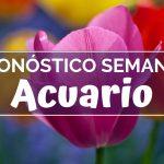 Pronóstico Semanal Acuario (del 18  al 24 de febrero)